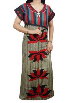 6754b81a1 Indiatrendzs Women Cotton Nighty Printed Beige Red Sleepwear Night Gown 46