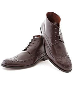 794e35afe5e773 Brown Brogue Vegan Boot - NoHarm Brown Brogues