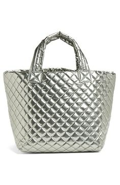 M Z Wallace 'Metro - Large' Quilted Metallic Tote