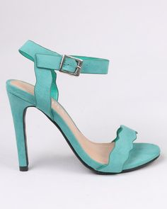 8be3d424750 Utopia Scallop Barely There Heel Green