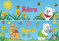 Zaubereinmaleins - DesignBlog Kindergarten, Comics, First Grade Lessons, School Routines, Day Care, Seasons Of The Year, Primary School, Deutsch, Kindergartens