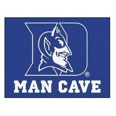 "Duke Blue Devils Man Cave Tailgater Area Rug Floor Mat 5' X 6' (60""' X 72"")"