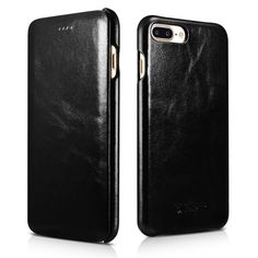 13 best iphone 7 plus cases images apple iphone, iphone 7 plusiphone 8 plus case iphone 7 plus leather case, icarercase vintage leather side open case in slim thin design, flip folio style cover with magnetic closure