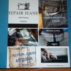 Une bonne adresse  à  Paris pour  l'entretien  de vos  #denim #selvedgr #jeans