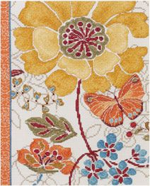 Bucilla ® Counted Cross Stitch - Picture Kits - Spice Bouquet | Plaid Enterprises