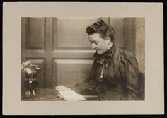 In honor of Women's History Month learn about  author and South Berwick, Maine,  native Sarah Orne Jewett.   Jewett family papers | Jewett family papers (MS014) -- Historic New England
