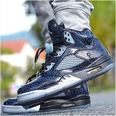 """Air Jordan 5 """"Doernbecher"""" http://www.sneakerstogo.com/authentic-air-jordan-5-doernbecher-p-38114.html"""