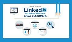 Thisinfographic, created bySalesforce, illustrates how LinkedIn can help you to reach your ideal customers.