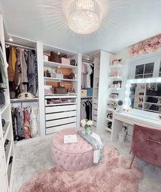 Room Design Bedroom, Room Ideas Bedroom, Bedroom Decor, Teen Bedroom Layout, Ikea Room Ideas, Ikea Bedroom, Dressing Room Closet, Dressing Room Design, Dressing Room Decor