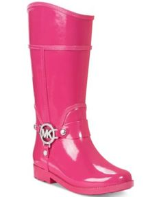 Michael Kors Girls' or Little Girls' Rain Boots | macys.com