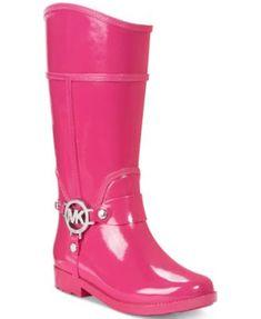 Michael Kors Girls' or Little Girls' Rain Boots | macys.com