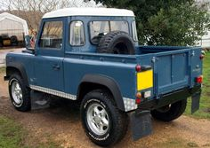 * 275 mm OPEN DOORS *  1/10 Land Rover Defender D90 PickUp Plastic Body Kit NIB #sylvian1975