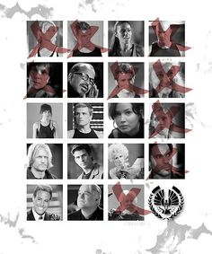 Hunger Games / Catching Fire / Tributes