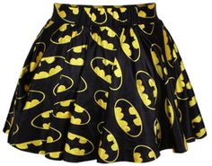 Ninimour- Sexy Retro Vintage Digital Print Skater Skirt (Batman):Amazo...