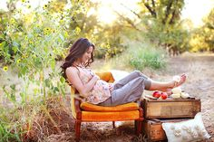 Outdoor Fall Maternity session