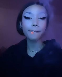 Bad Girl Aesthetic, Aesthetic Clothes, Baddies, Pretty Girls, Septum Ring, Mood, Iphone Wallpaper, Profile, Videos