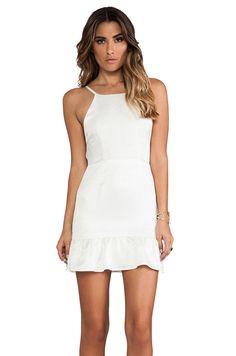 STONE_COLD_FOX Pistol Dress em Branco | REVOLVE