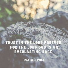 The Rock is my foundation on which i will build my life serving Christ. In Jesus name. Amen