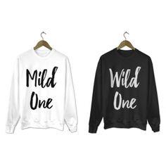 Bluzy dla przyjaciółek Mild one Wild one