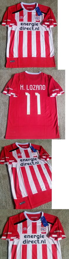 Men 123490: Psv Eindhoven Chucky H. Lozano Soccer Jersey Size L -> BUY IT NOW ONLY: $49.99 on eBay!