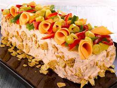 Texmex-maut ovat löytäneet tiensä voileipäkakkuun. Tämä meksikolainen voileipäkakku on erityisesti nuorten suosiossa.