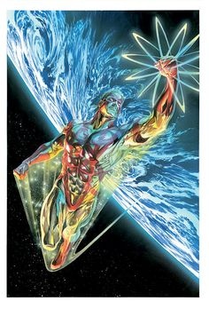 Captain Atom by Alex Ross