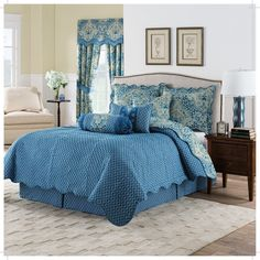 Moonlit Shadows Reversible Quilt Collection by Waverly | from hayneedle.com