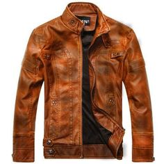 Slim Fit Leather Jackets You have to Experience it yourself – Men's & Women's Clothing Store | Black Jack Leathers Sheep Leather, Leather Men, Real Leather, Womens Clothing Stores, Women's Clothing, Clothes For Women, Distressed Leather Jacket, Collar Styles, Jack Black