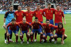 Spanish Soccer team, David Villa #7
