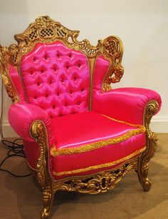 Haute Pink Chair~