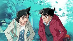 Shinichi and Ran^^