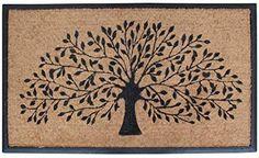NEW Made in the USA Door Mat Pompeii Stones Recycled Rubber Doormat