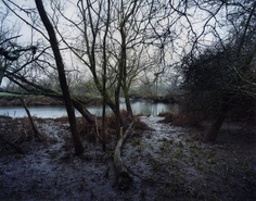 Blackdown sits on the River Culm.  This is the River Culm, January 2011, photo by Jem Southam.
