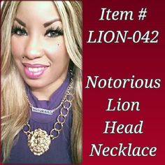 LION-042 ($25) Order by Email: IDRegalia.RoyalJewels@gmail.com