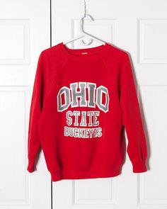 Vintage Ohio State Buckeyes Sweatshirt on Etsy, $20.00