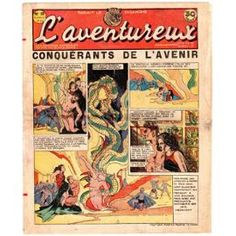 L'aventureux 1ère Année 1936 N° 20 : Conquérants De L'avenir