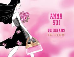 anna sui dreams inpink | Anna Sui Dreams In Pink Fragrance Spring 2014