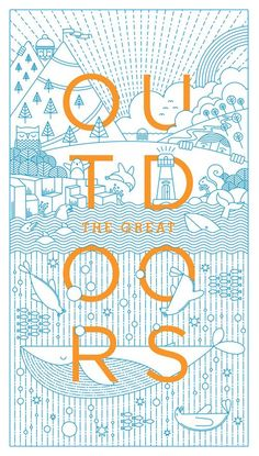 Created by Cape Town-based design and illustrator Warwick Kay for the Locals Only Exhibition. Fantastic use of typography and illustration. Graphisches Design, The Design Files, Print Design, Dm Poster, Design Poster, Poster Layout, Illustration Arte, Graphic Design Illustration, Creative Illustration