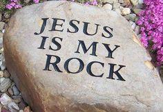Jesus is my rock and refuge