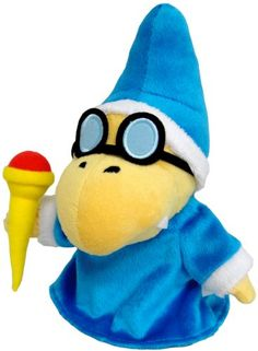 Sanei Super Mario Kamek Plush Doll Sanei http://smile.amazon.com/dp/B009C02OHQ/ref=cm_sw_r_pi_dp_FYARub1323V1Z