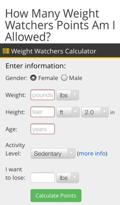 How to determine your total daily points allowance. How to determine your total daily points allowance. Plan Weight Watchers, Weight Watchers Points Calculator, Weight Watcher Points, Ww Calculator, Weight Watcher For Free, Quick Weight Loss Tips, Best Weight Loss Plan, How To Lose Weight Fast, Losing Weight