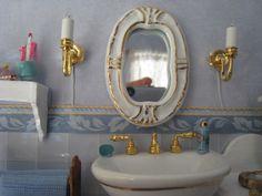 My doll house - Mirror of the bathroom - Mi casita de muñecas - Espejo del baño