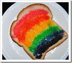 Rainbow Toast | Healthy Ideas for Kids