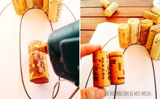 Imagen 0 Anniversary Parties, 50th Anniversary, Party, Male Birthday Parties, Coffee Branding, Wine Corks, Home Made, How To Make, Craft