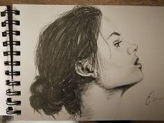 B/W portrait (pencil)