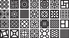 The Cobogó is the inspiration for the digital font Dingbat Cobogó designed by the brazilian graphic designer Guilherme Luigi. The symbols were created from the synthesis of pierced elements found in photographs by Josivan Rodrigues for his book Cobogó o…