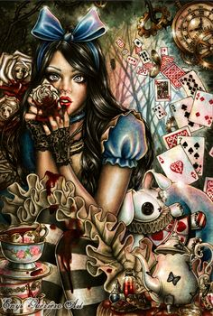 Alice in Wonderland by EnysGuerrero on DeviantArt
