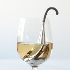 Need to chill wine in a hurry? These wine chilling wands cool a single glass of wine to its ideal serving temperature up to 20 times faster than your refrigerator can chill a full bottle.