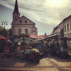 Old market, Kosice #Slovakia