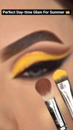 Dope Makeup, Makeup Eye Looks, Eye Makeup Art, Crazy Makeup, Smokey Eye Makeup, Brown Makeup Looks, Bold Eye Makeup, Smokey Eyeshadow, Beautiful Eye Makeup
